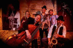 Gruppenfoto der Band Acousic Colour